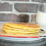 Buttermilk Pancakes Recipe and Syrup
