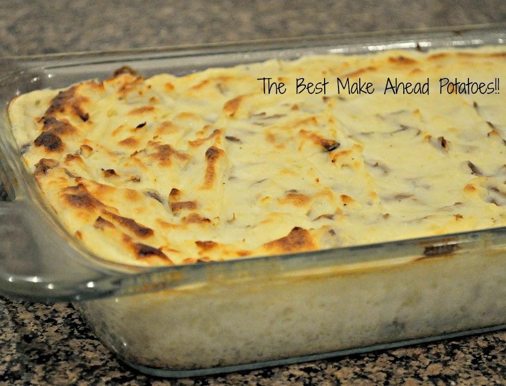 Make ahead Potatoes!