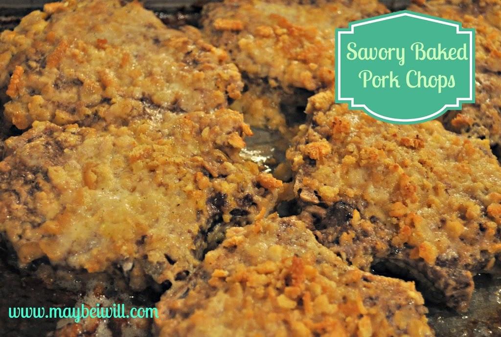 Savory Baked Pork Chops