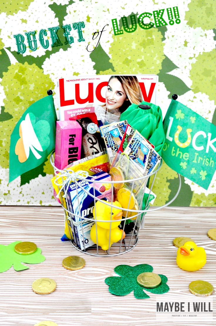 Such a cute idea to cheer someone up! Or a fun St Patty's gift idea!