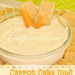 Carrot Cake Dip!!