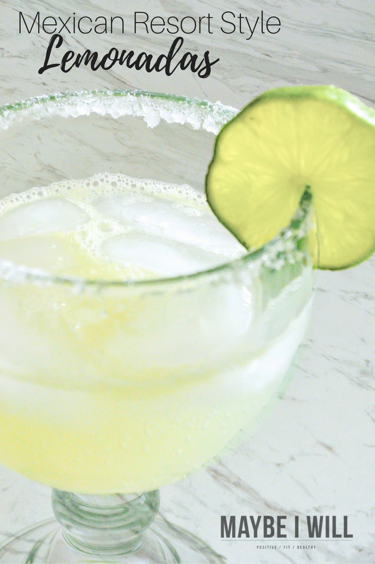 This Mexican Resort Style Lemonada Drink will have your dreaming you are poolside or make the perfect crowd pleaser for your Cinco De Mayo celebration!