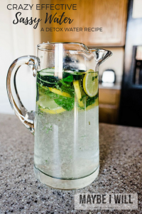 The Crazy Effective Sassy Water Recipe