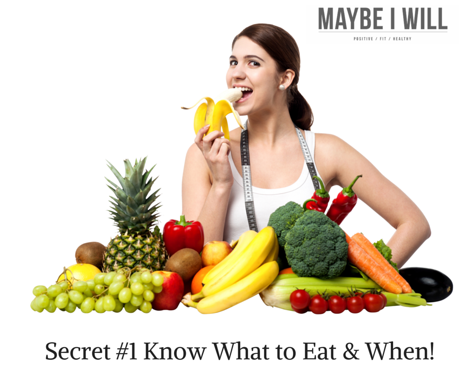 Secret #1 Know What to Eat & When!