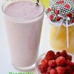 Peartastic Raspberry Protein Shake