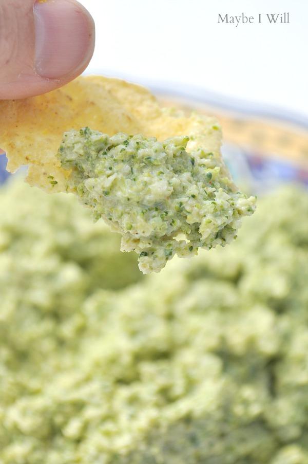 Ole Broccomole!! So Flippin' good it's hard to believe it's actually healthy!!! #broccomole #healthydips #healthysnacks