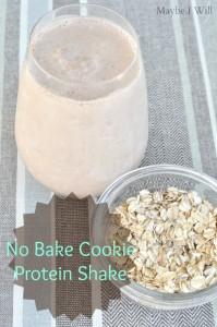 Chocolate No Bake Cookie Protein Shake