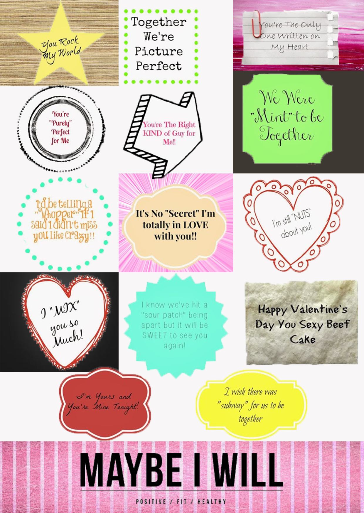 14 Days of Love Tags