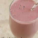 Chocolate Raspberry Protein Shake