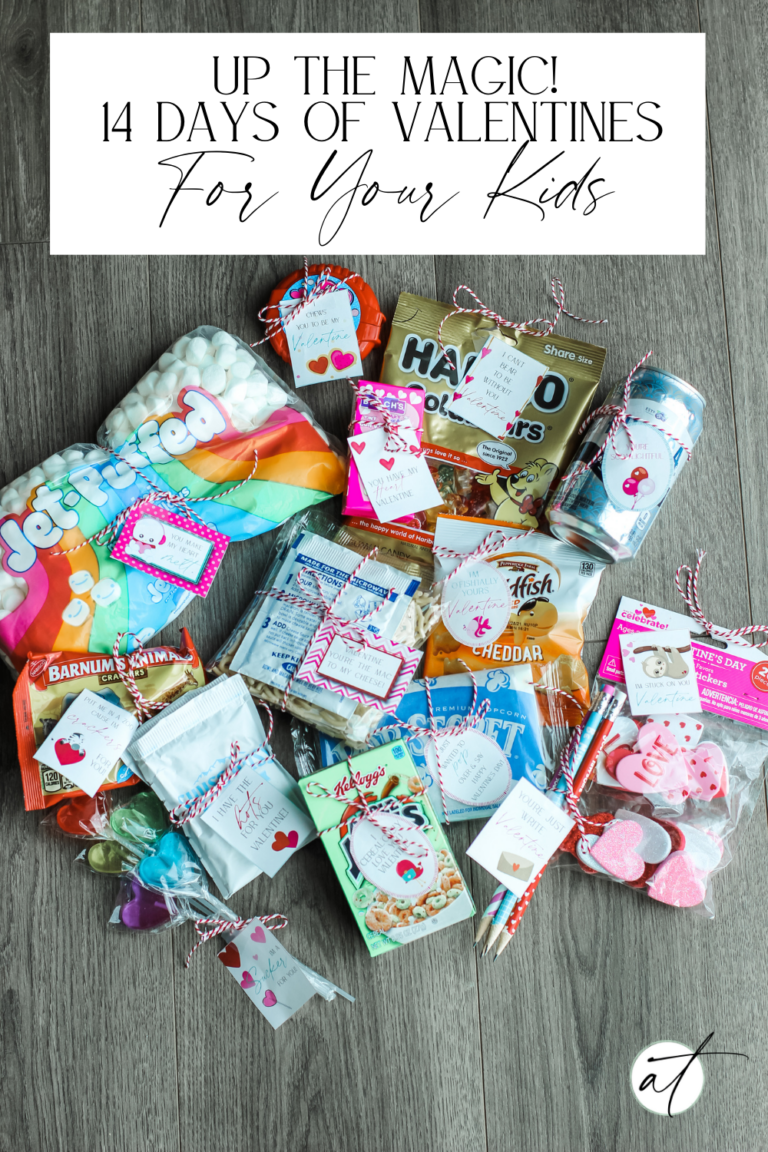 Up The Magic, With These Fun Valentines For Your Kids!