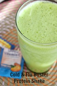 Cold & Flu Buster Protein Shake!