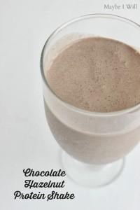 Chocolate Hazelnut Protein Shake