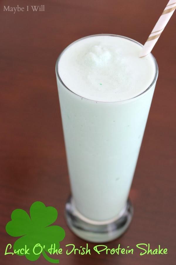 Shamrock Protein Milkshake Recipe — Dishmaps