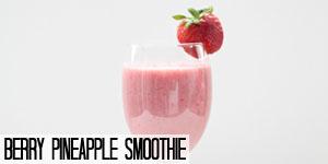 Berry Pineapple Smoothie