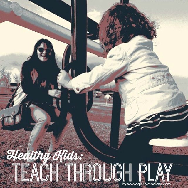 Teach health through playing with your kids