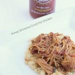 Honey SriraCHA Crock Pot Chicken