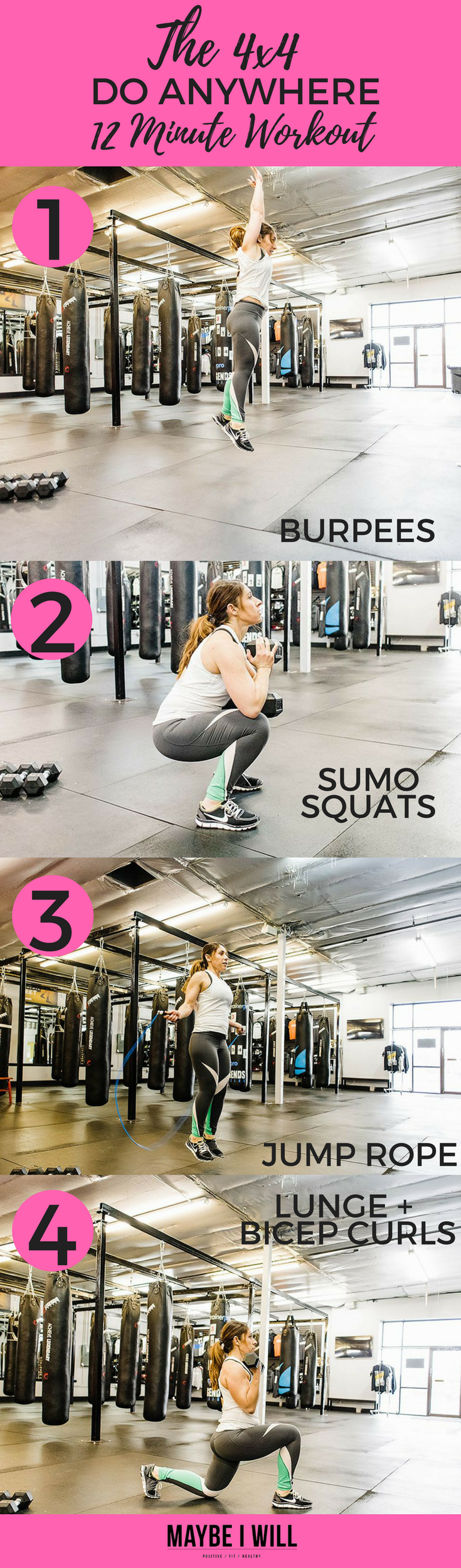 The 4×4 Do Anywhere 16 Minute Workout