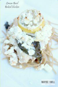 Lemon Basil Baked Chicken Recipe