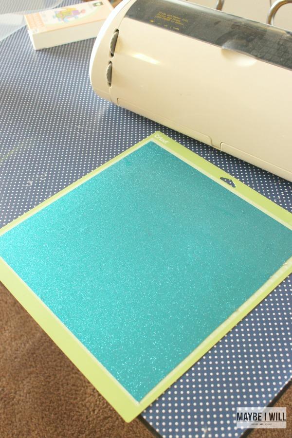 Place Vinyl on Cutting Mat