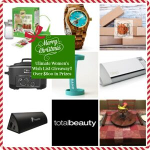 What every women wants for Christmas this year in ONE HUGE Giveaway!!!