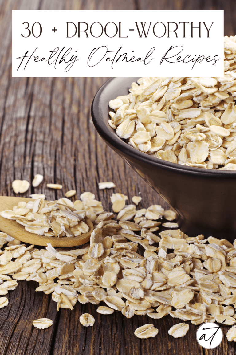 30+ Drool-Worthy Healthy Oatmeal Recipes
