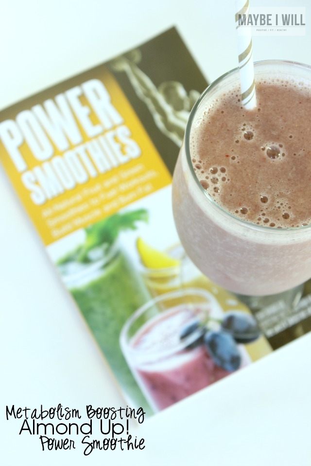 Kick your metabolism into high gear with this awesome metabolism boosting Smoothie!