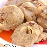 Paleo Apple Cranberry Ice Box Cookies