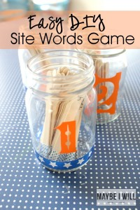 End the frustration with this fun and easy Site Word Game!