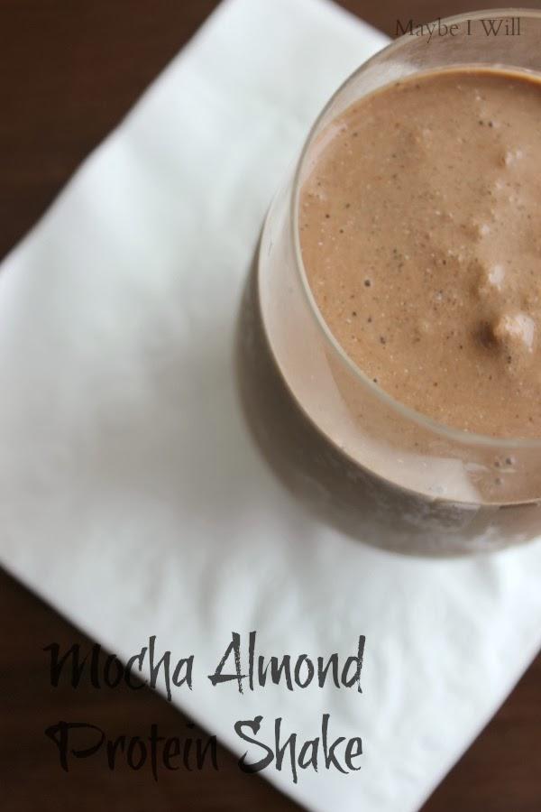 Mocha-Almond-Protein-Shake