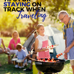 5 Tips For Staying On Track When Traveling!
