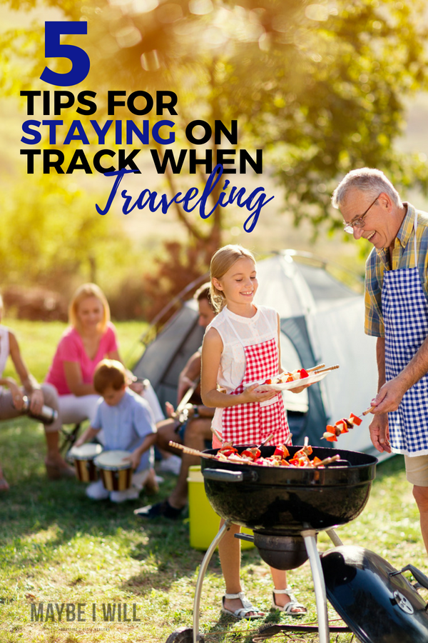 With vacations, family reunions, and road trips you may find staying on track when traveling difficult These 5 simple tips will help you stay focused and on track!