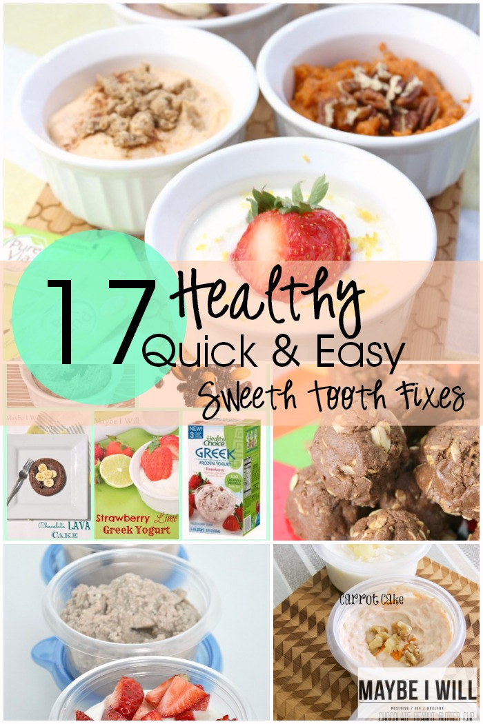 17 Quick and Easy fixes for when temptation comes a knocking!! Be ready! Bonus all these quick recipes are Ahhh-mazing!!! Diet or not! ;)