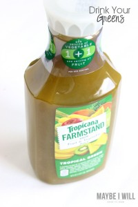 Treat your body right!! And help fuel it right with Tropicana Farmstand Green juices