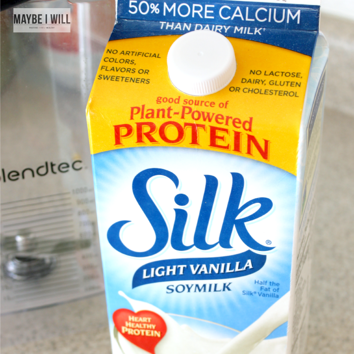 Power Up with Silk Soy Milk