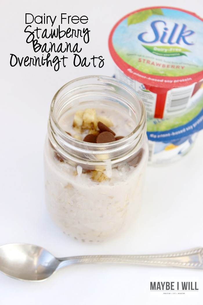 Dairy Free Overnight Oats Made With Silk