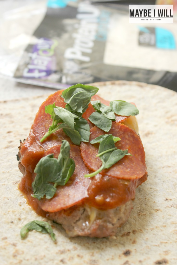 Flat Out Protein Wraps Pizza Burger