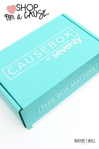 Buy with your heart and help others LIVE better lifes! @causebox #casuebox02 #ad