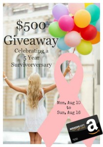 $500 Giveaway