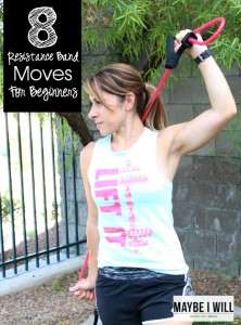 8 Resistance Band Moves For Beginners!