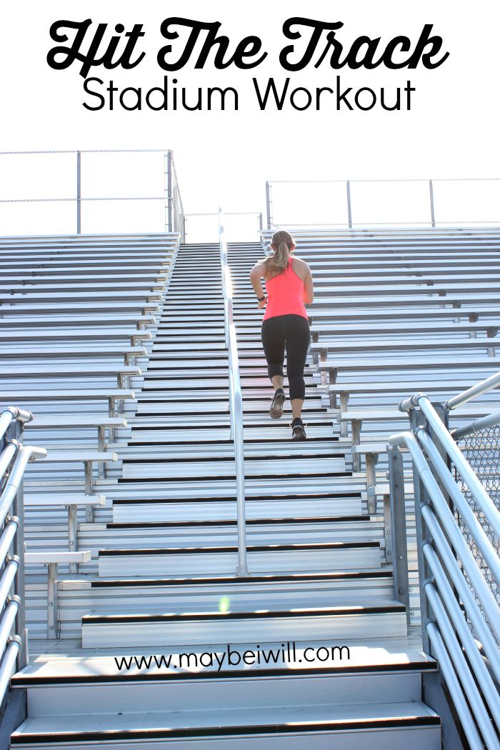 Hit The Track Stadium Workout