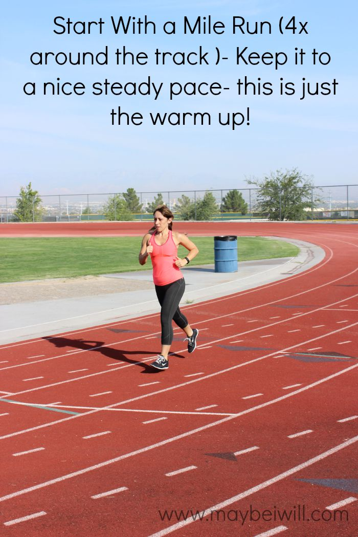 Start With A Mile Run