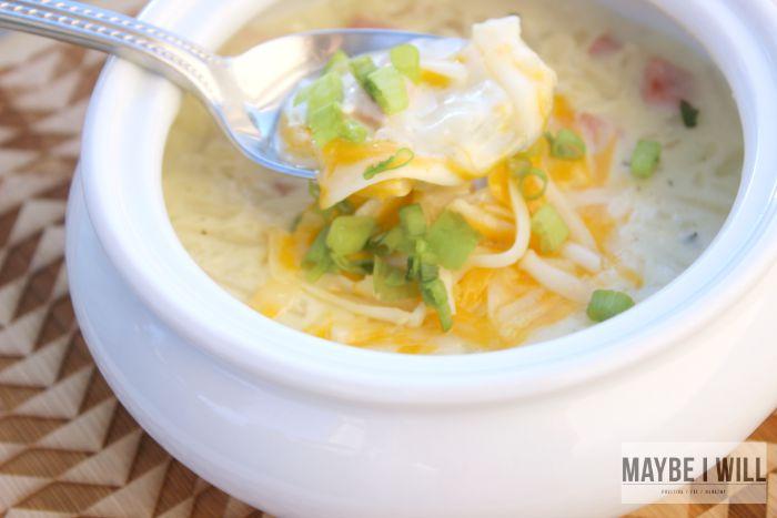 Lazy Potato Soup Goodness