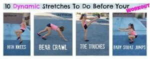 10 Dynamic Stretches You Can Do Before Your Workout