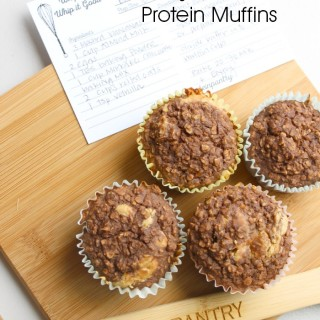 The DROOL worthy muffins are delightful and PACKED with protein + no ...