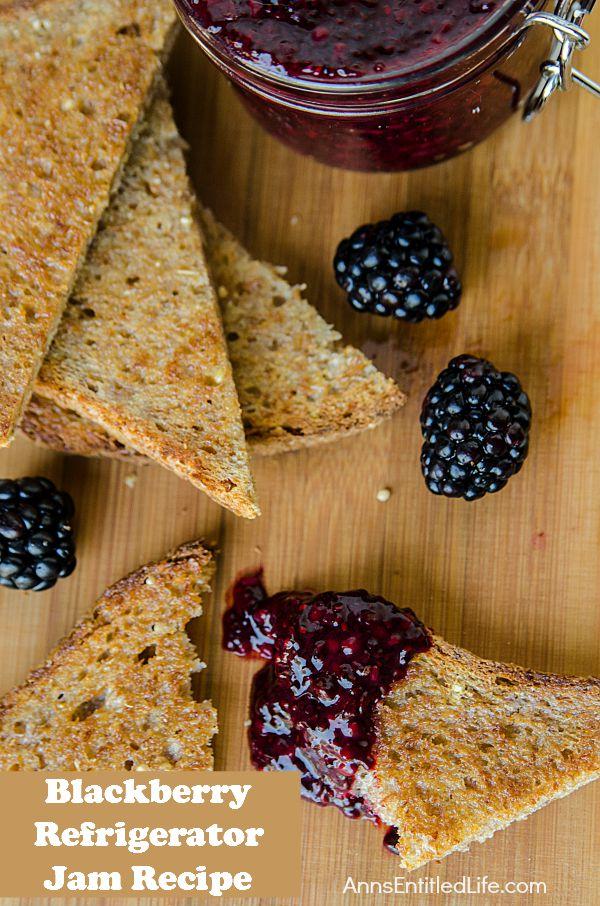 blackberry-refrigerator-jam-recipe - Ann's Entitled Life