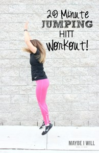 Mix things up with this AWESOME Plyo inspired HITT workout!