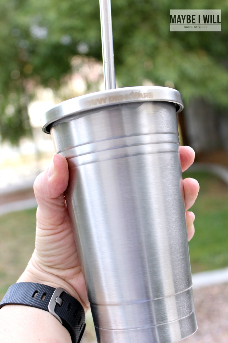 Savvy Drinkware with lid