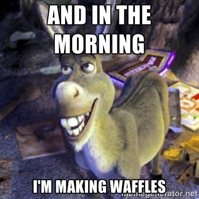 Waffles Meme