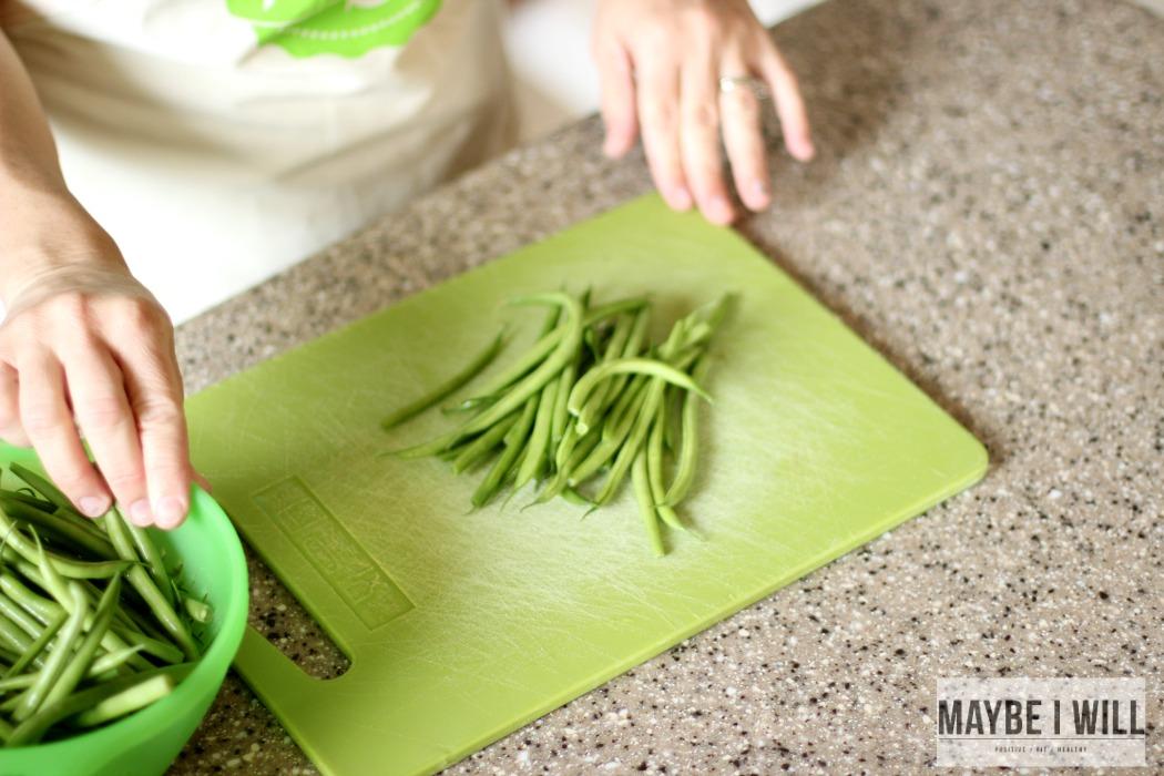Fresh Cut Beans From Hello Fresh
