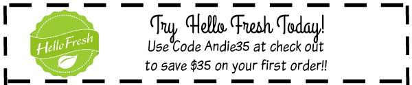 Save $35 on Hello Fresh!